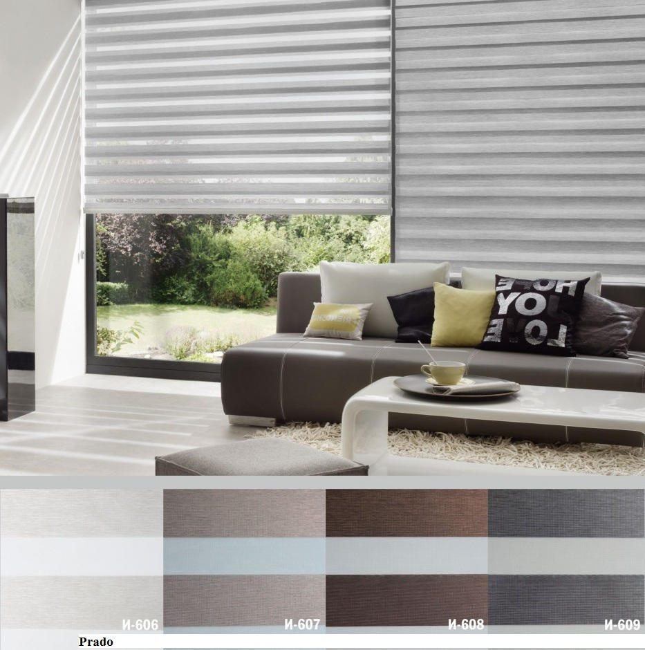 Windows Shades Fabrics Zebra Roller Shade Store Toronto