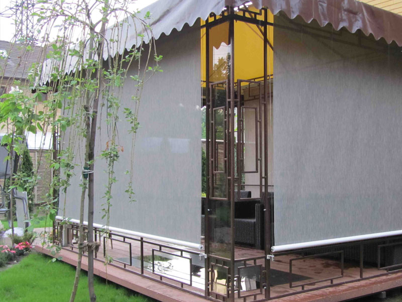 veranda plus vertical awning