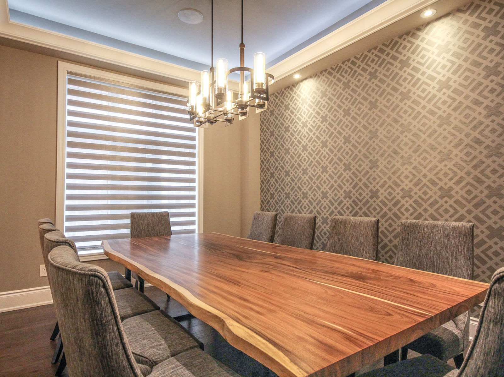 Zebra Shades Window Coverings Canada Roller Blinds