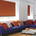 How to dress windows with roller shades