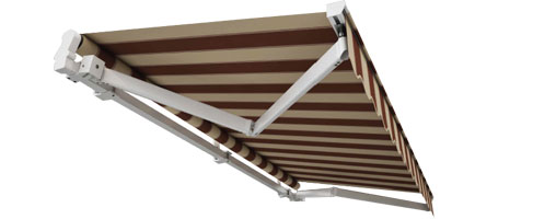 cross arm awnings