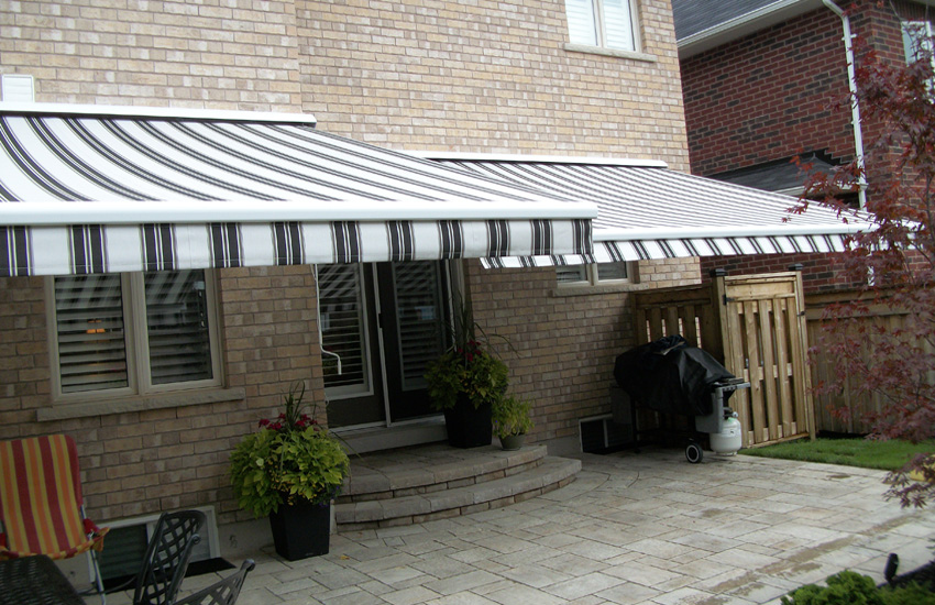 cross elbow awning Toronto