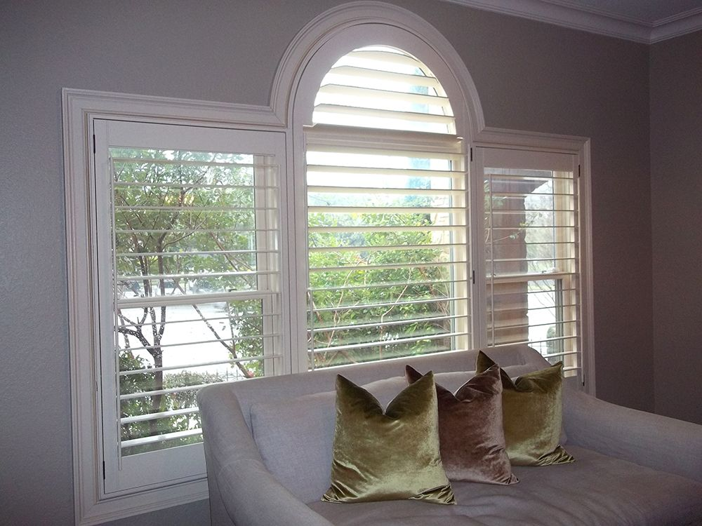 Arch Shape California shutters