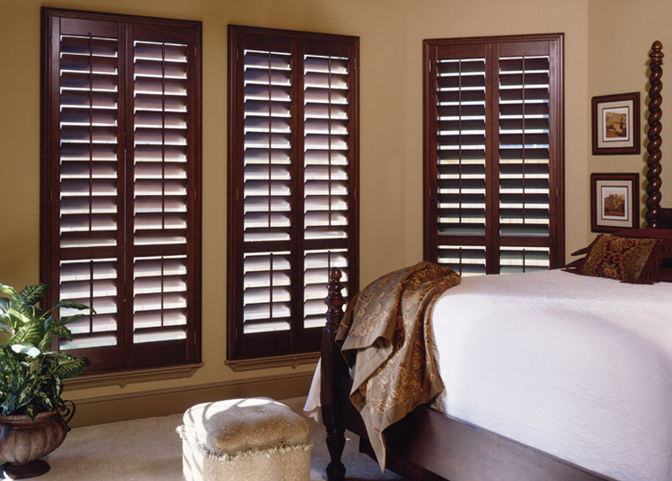 wood California shutters